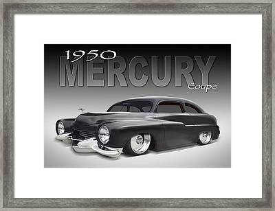 50 Mercury Coupe Framed Print by Mike McGlothlen