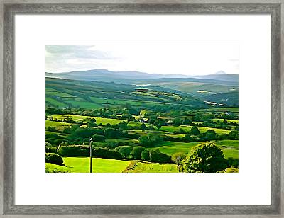 Framed Print featuring the photograph 50 Shades Of Green by Charlie and Norma Brock