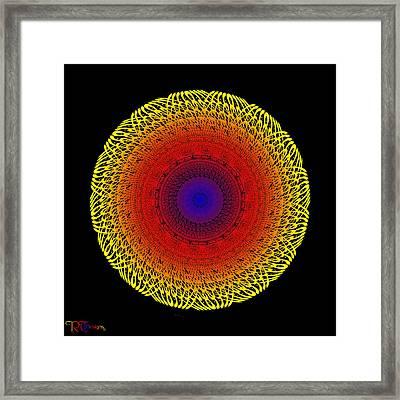506 Framed Print