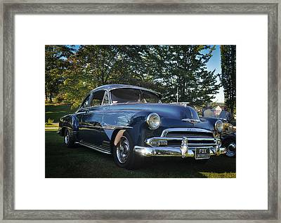 '51 Chevrolet Framed Print by Ronda Broatch