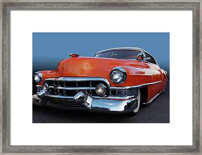 Framed Print featuring the photograph 54 Cadillac De Ville by Bill Dutting