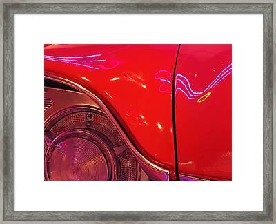 57 Lancer Framed Print
