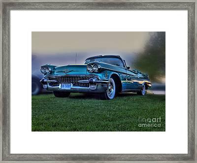 58 Caddy Framed Print