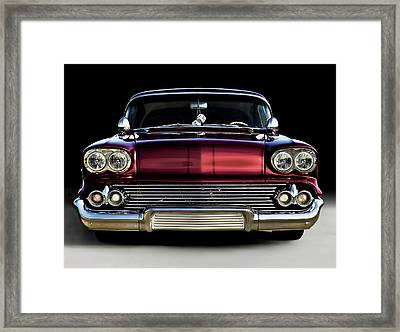 '58 Impala Custom Framed Print by Douglas Pittman