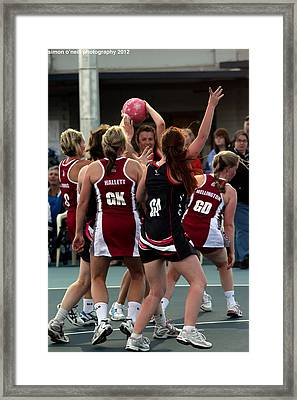 Australian Deaf Games 2012 Framed Print by Edan Chapman