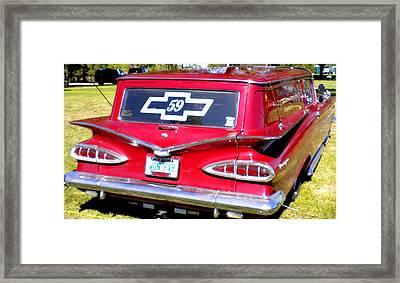 '59 Chevy Framed Print