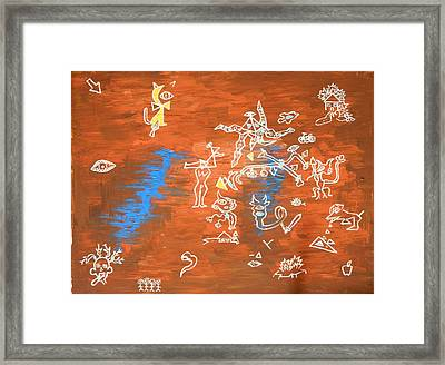 5month Framed Print by Musat Iliescu