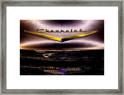 1957 Chevrolet Bel Air Framed Print by David Patterson
