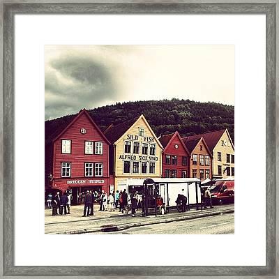 Bergen Framed Print