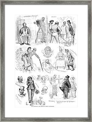 Centennial Fair, 1876 Framed Print