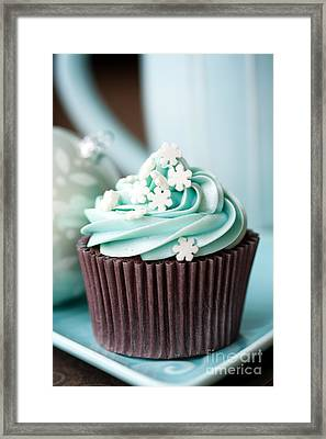 Christmas Cupcake Framed Print