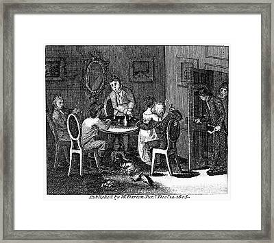 Franklin: Way To Wealth Framed Print