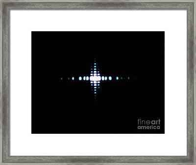 Fraunhofer Diffraction Framed Print