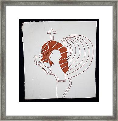 Guardian Angel Framed Print by Gloria Ssali