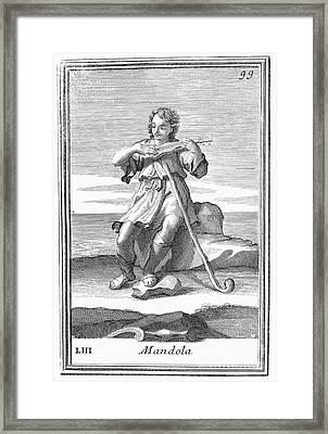 Guitar, 1723 Framed Print