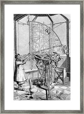Johannes Hevelius, Polish Astronomer Framed Print by Science Source