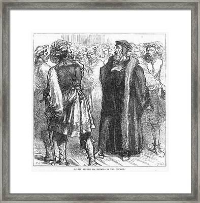 John Calvin (1509-1564) Framed Print by Granger