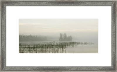 Lake Of The Woods, Ontario, Canada Framed Print by Keith Levit