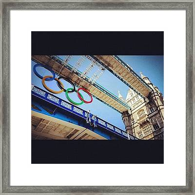 #london2012 #london #olympics Framed Print by Nerys Williams