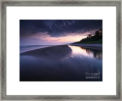 Long Point Beach Framed Print by Oleksiy Maksymenko