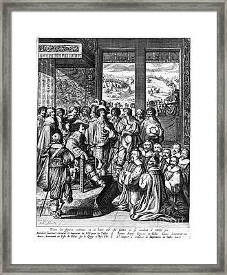 Louis Xiii (1601-1643) Framed Print by Granger