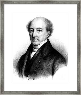 Mathieu Orfila, Spanish-french Framed Print by Science Source