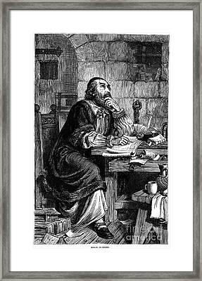 Nicholas Ridley (1500-1555) Framed Print
