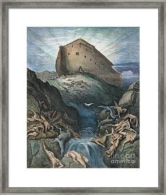 Noahs Ark Framed Print by Granger