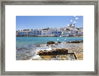 Paros - Cyclades - Greece Framed Print by Joana Kruse