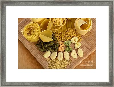 Pasta Framed Print by Photo Researchers, Inc.