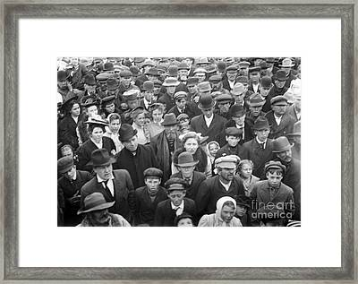 Presidential Campaign, 1908 Framed Print