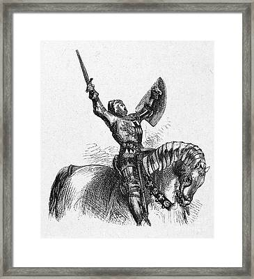 Shakespeare: Henry Iv Framed Print