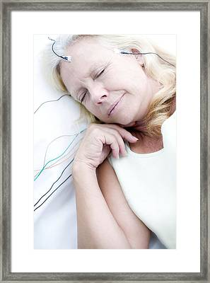 Sleep Research Framed Print by