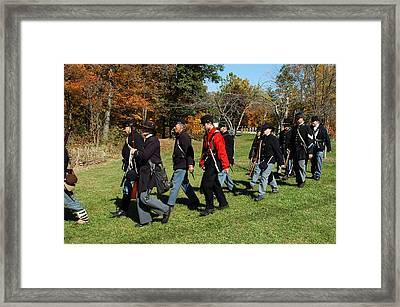 Soldiers March Framed Print by LeeAnn McLaneGoetz McLaneGoetzStudioLLCcom