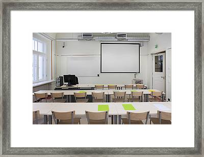 Tartu University In Estonia Framed Print by Jaak Nilson