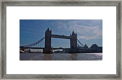 Tower Bridge Framed Print by Dawn OConnor