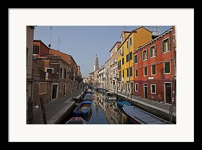 Venetian Architecture Framed Prints