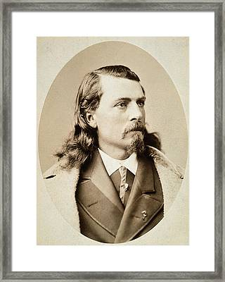 William F. Cody (1846-1917) Framed Print