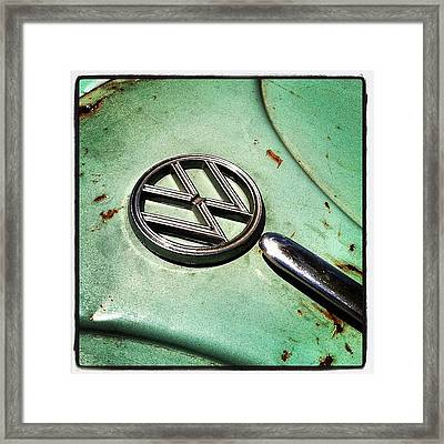 61 V W Framed Print by Gwyn Newcombe