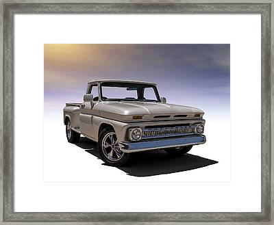 '66 Chevy Pickup Framed Print by Douglas Pittman