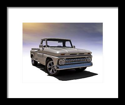 Chevy Pickup Framed Prints
