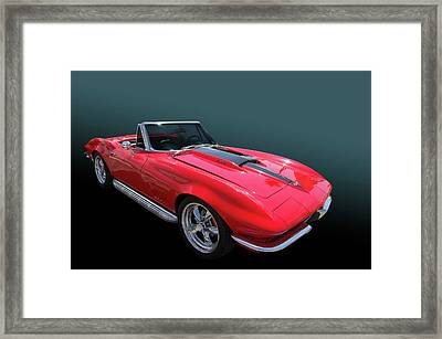 Framed Print featuring the photograph 67 427 Roadster by Bill Dutting