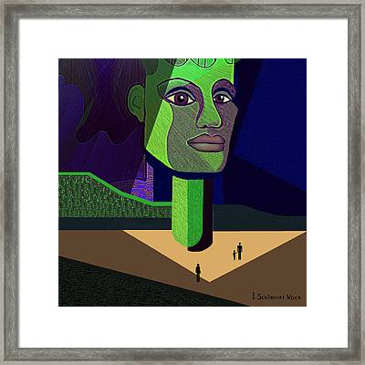 671 -   Mighty Diva Framed Print by Irmgard Schoendorf Welch