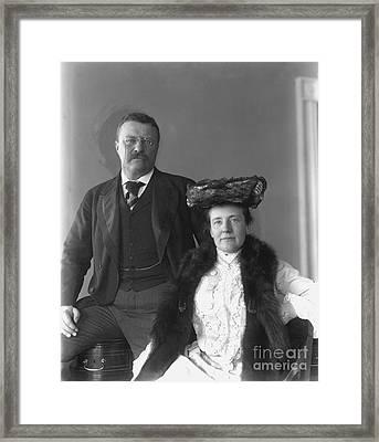 Theodore Roosevelt Framed Print by Granger
