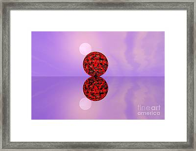 Planets Framed Print by Odon Czintos