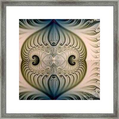 The Magic Background Framed Print