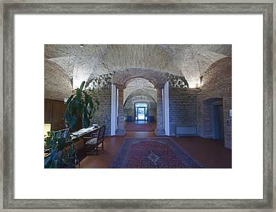 A Traditional Hotel The Ospedalicchiodi Framed Print