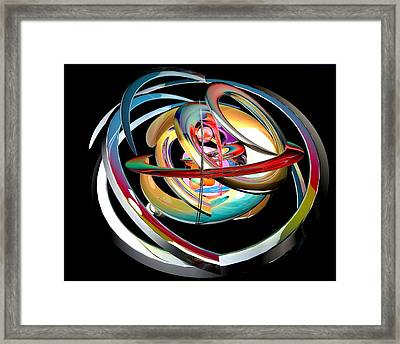 Abstract Shape Framed Print