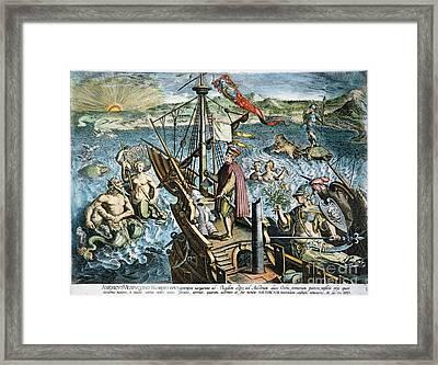 Amerigo Vespucci (1454-1512) Framed Print