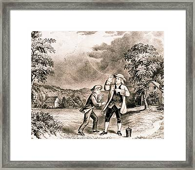 Benjamin Franklin, American Polymath Framed Print